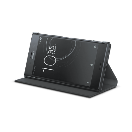 Style Cover Stand SCSG10B for Xperia XZ Premium (Black), , hi-res
