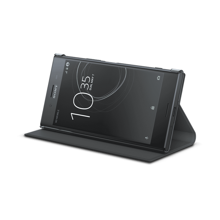 Style Cover Stand SCSG10B for Xperia XZ Premium (Black), , product-image