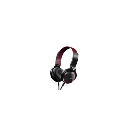 XB400 Extra Bass (XB) Headphones (Red)