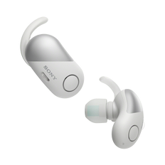 Wireless Noise Cancelling Headphones for Sports (White)