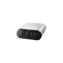Clock Radio (White)