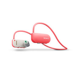 Wearable Music Player with Fitness Tracker (Pink)