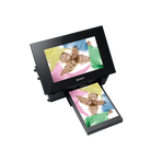 Digital Photo Frame / Printer (Black), , hi-res