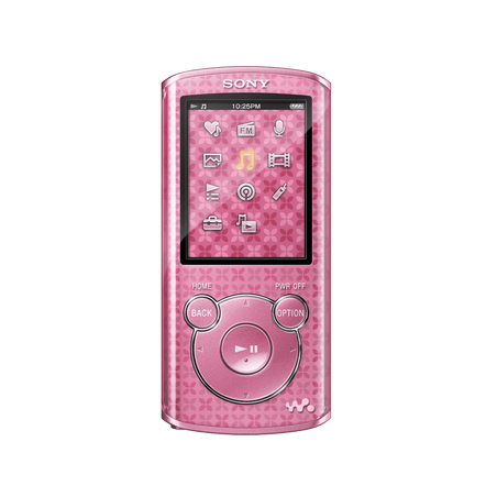 4GB E Series Video MP3/MP4 Walkman (Pink)