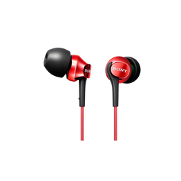 EX100 In-Ear Monitor Headphones (Red), , hi-res