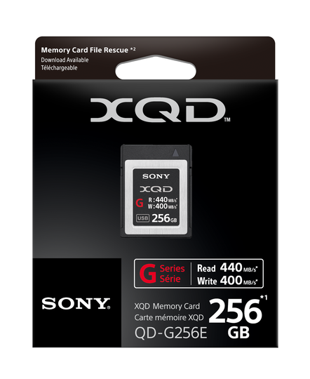 XQD G Series 256GB Memory Card