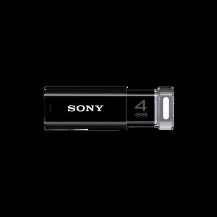 4GB USB Micro Vault Click (Black), , hi-res