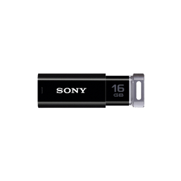 16GB USB Micro Vault Click (Black), , hi-res