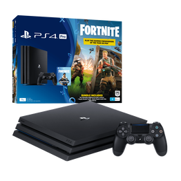 PlayStation4 Pro 1TB Console with Fortnite Bonus Digital Content (Black), , lifestyle-image