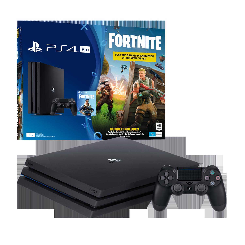 PlayStation4 Pro 1TB Console with Fortnite Bonus Digital