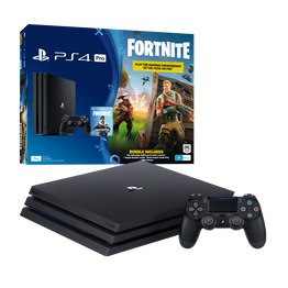 PlayStation4 Pro 1TB Console with Fortnite Bonus Digital Content (Black), , hi-res