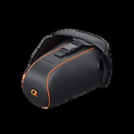 Soft Leather Carrying Case for DSLR Camera, , hi-res