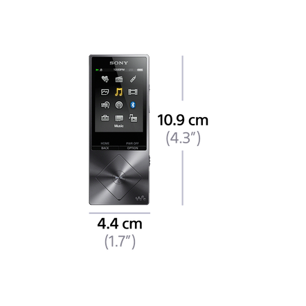 A Series High-Resolution Audio 16GB Walkman (Red), , hi-res