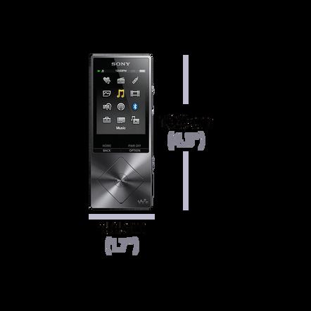 A Series High-Resolution Audio 16GB Walkman (Silver)