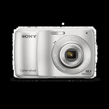 10.1 Mega Pixel S Series 4x Optical Zoom Cyber-shot (Silver), , hi-res