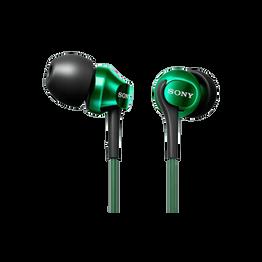 EX100 In-Ear Monitor Headphones (Green), , hi-res