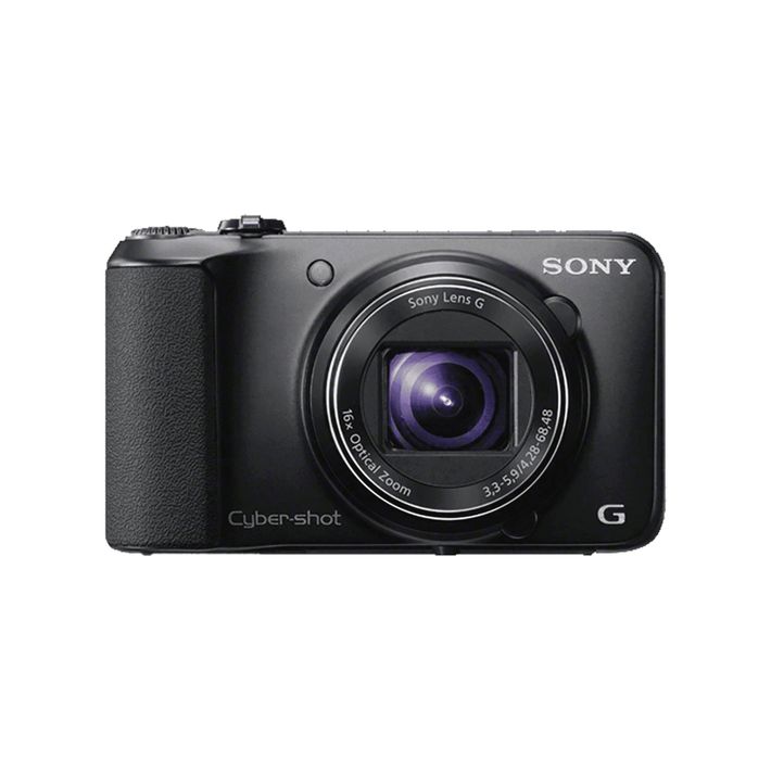 16.1 Megapixel H Series 16X Optical Zoom Cyber-shot Compact Camera (Black), , product-image