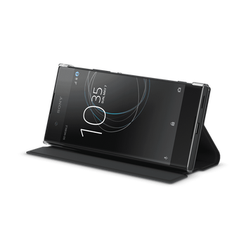 Style Cover Stand for Xperia XA1 (Black), , hi-res