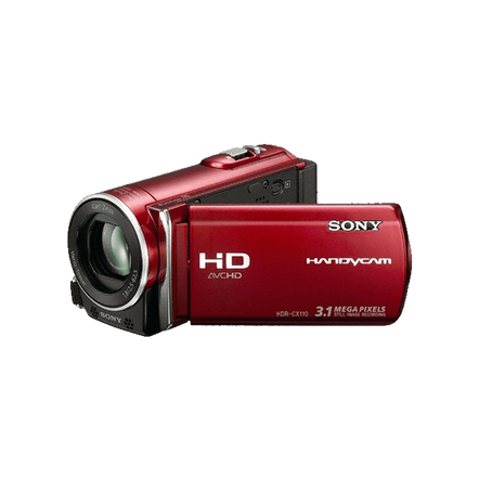HD Handycam Camcorder (Red)