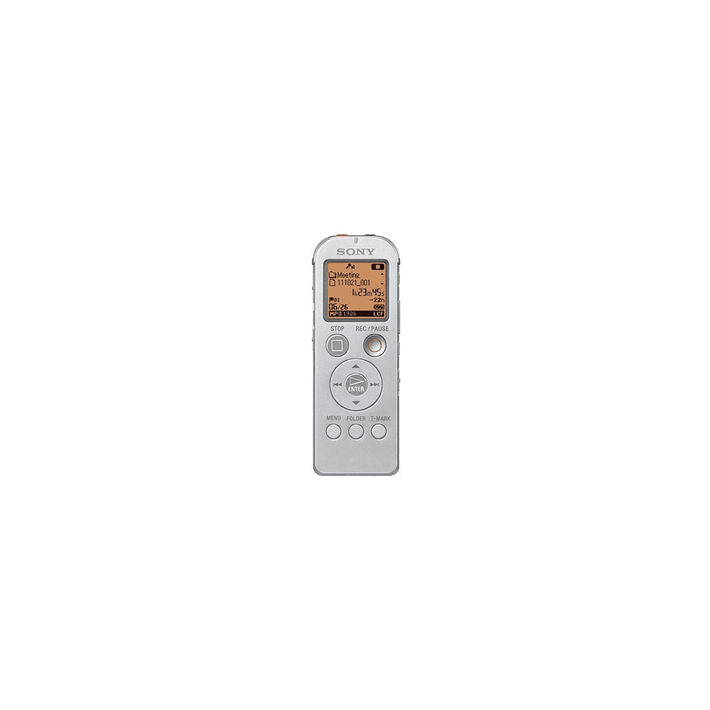 4GB UX Series Digital Voice Recorder (Silver), , product-image