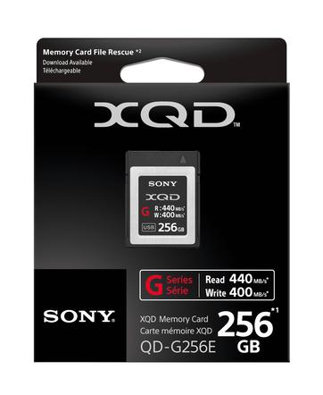 XQD G Series 256GB Memory Card, , hi-res