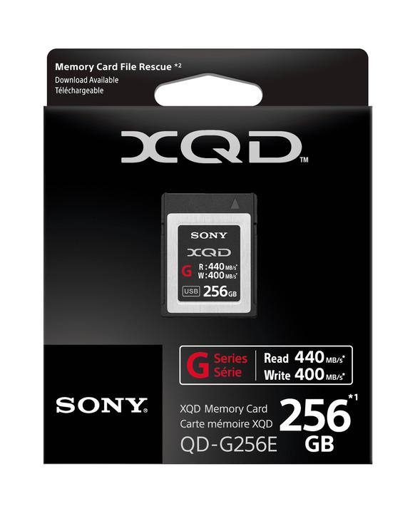 XQD G Series 256GB Memory Card, , product-image