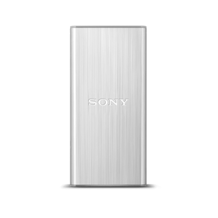 128GB USB 3.0 External Solid State Drive (Silver), , hi-res