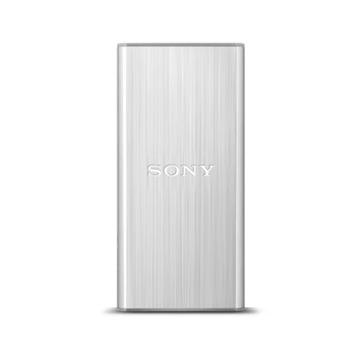 128GB USB 3.0 External Solid State Drive (Silver), , product-image