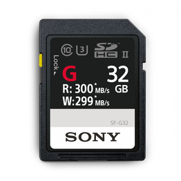 32GB SF-G  Series UHS-II SD Memory Card