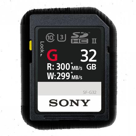 32GB SF-G  Series UHS-II SD Memory Card, , hi-res