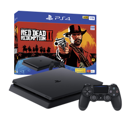 PlayStation4 Slim 1TB Console with Red Dead Redemption 2