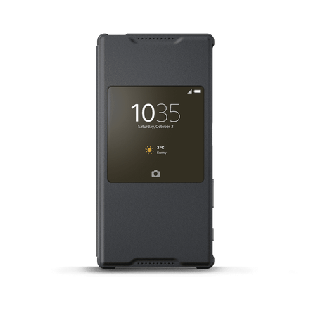 Smart Cover Stand SCR42 for Xperia Z5 (Graphite Black), , hi-res