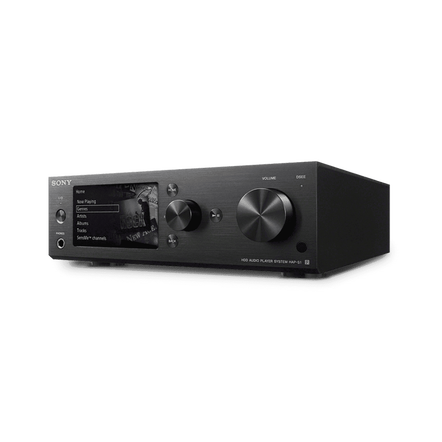 High-Resolution Audio 500G HDD Player (Black), , hi-res