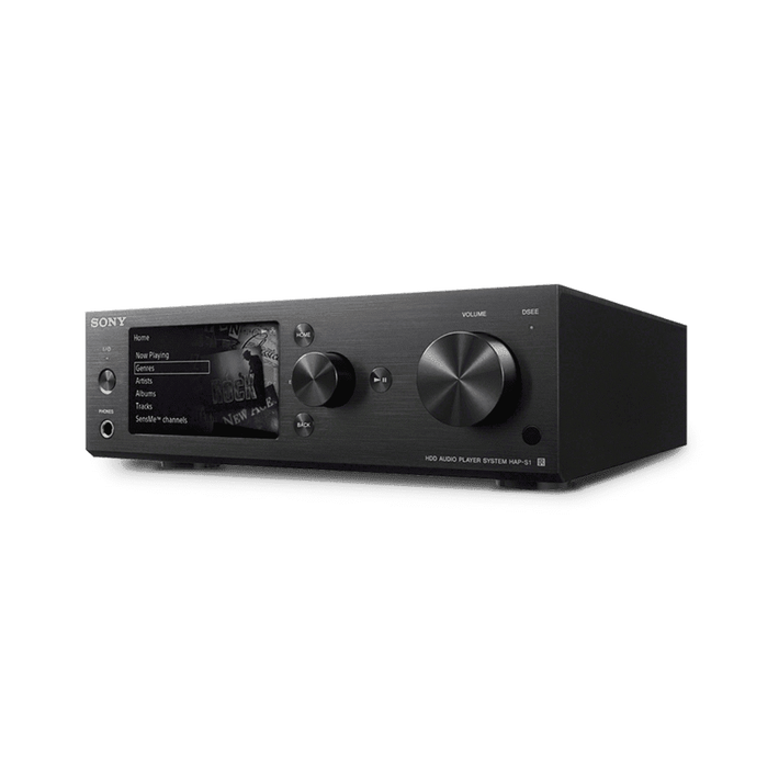 High-Resolution Audio 500G HDD Player (Black), , product-image