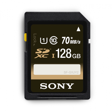 128GB UHS-I Class 10 SDXC/SDHC memory card SF-UY2 Series, , hi-res