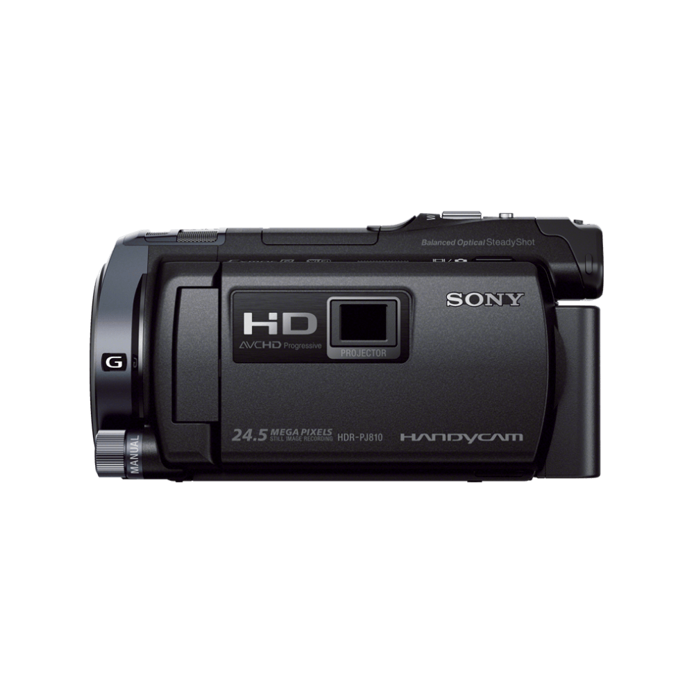HD 64GB Flash Memory Handycam with Built-In Projector, , hi-res