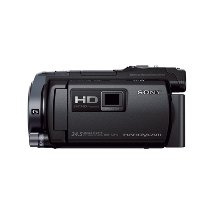 HD 64GB Flash Memory Handycam with Built-In Projector