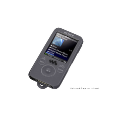 Silicone Case for Walkman Video MP3 Players (Black)