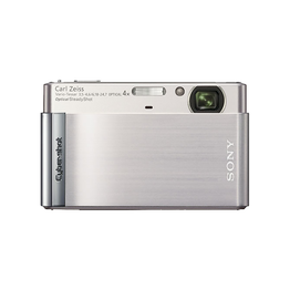 12.1 Mega Pixel T Series 4x Optical Zoom Cyber-shot (Silver), , hi-res