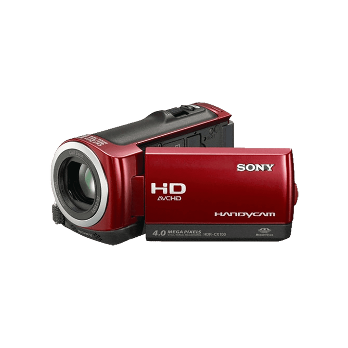 Hybrid 8GB Full HD Camcorder (Red), , product-image