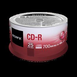 25-Pack CD-R Disc