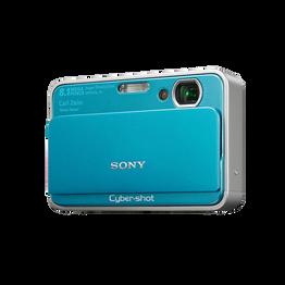 8.1 Megapixel T Series 3X Optical Zoom Cyber-shot Compact Camera (Blue)