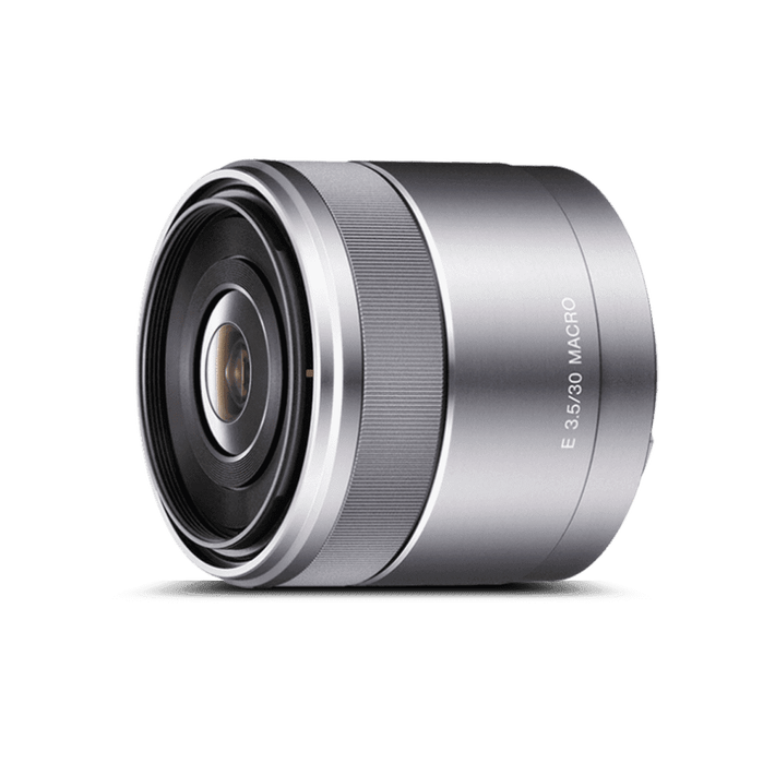 APS-C E-Mount  30mm F3.5 Macro Lens, , product-image