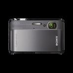 10.2 Megapixel T Series 4X Optical Zoom Cyber-shot Compact Camera (Black), , hi-res