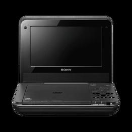 "7"" FX720 Series Portable DVD Player (White)"
