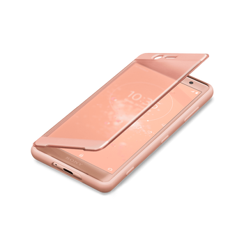 Xperia XZ2 Compact Style Cover Touch SCTH50 (Pink), , hi-res