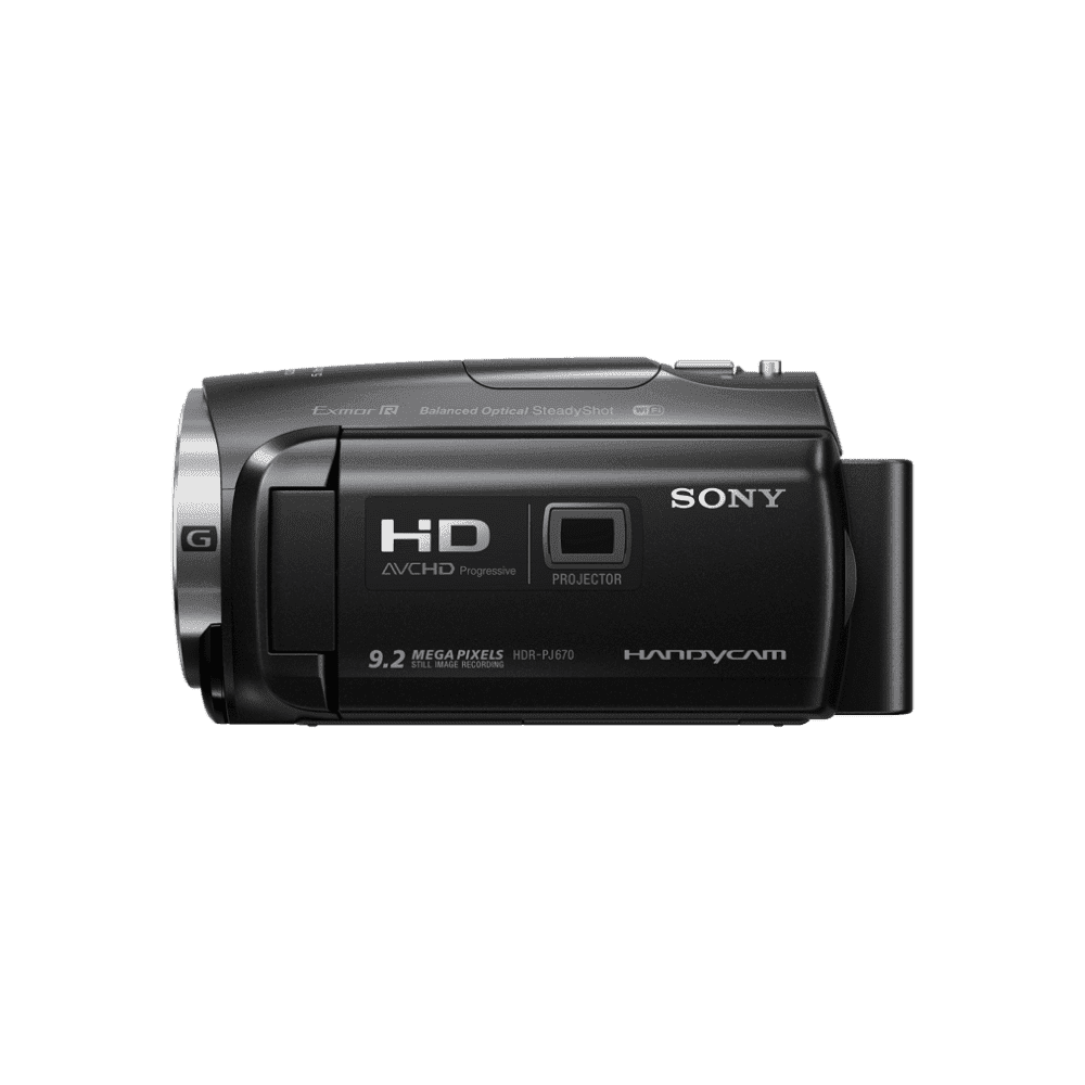 HD 32GB Flash Memory Handycam with Built-in Projector, , product-image
