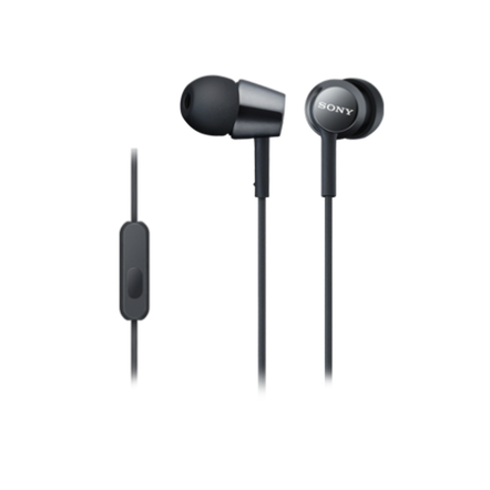 EX150AP In-Ear Headphones (Black), , hi-res