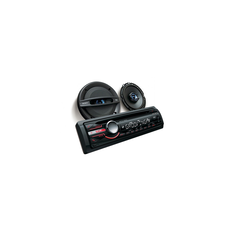 In-Car CD/MP3/WMA/Tuner Player with 16cm Speakers