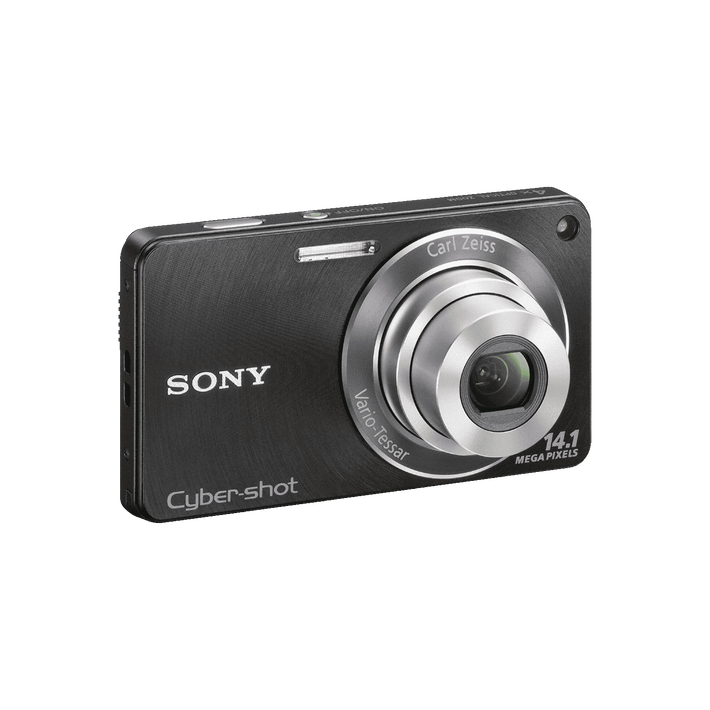 14.1 Megapixel W Series 4X Optical Zoom Cyber-shot Compact Camera (Black), , product-image